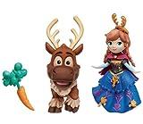 ディズニー アナと雪の女王 リトルキングダム ドール アナ&スヴェン