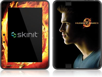 Skinit The Hunger Games -Gale Hawthorne Vinyl Skin for Amazon Kindle Fire HD 7