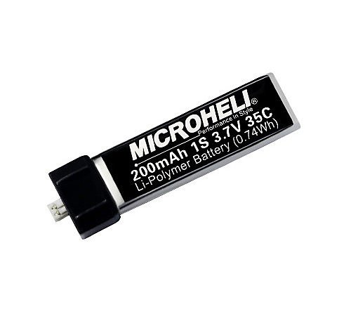 Microheli Co., Ltd 2001S35 Lipo 200mah 3.7v 35c Battery