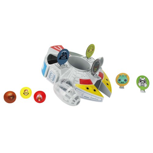 Angry Birds Star Wars Millennium Falcon Bounce Game - 1