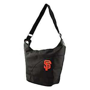 MLB San Francisco Giants Ladies Colo Sheen Hobo Purse, Black by Littlearth