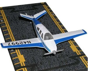 Hot Wings Beechcraft Bonanza