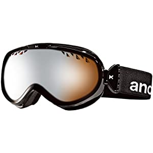 Anon Women's Solace Painted Goggles - Black/Silver Amber