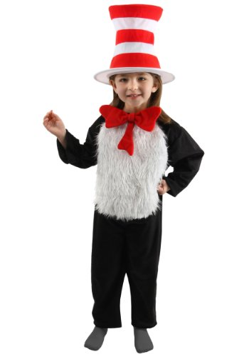 Big Boys' Deluxe Child Cat in the Hat Costume