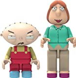 K'nex Family Guy-Stewie and Lois Buildable Figures