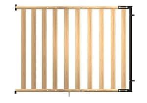 reer SH114 - 2er Pack Treppengitter Jonas, Holztüre, für Türrahmen, Treppenaufgänge etc. von 75 bis 114 cm
