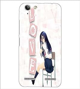 PrintDhaba Speed Girl D-4474 Back Case Cover for LENOVO VIBE K5 (Multi-Coloured)