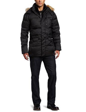 (新品)安德鲁 马克高山羽绒衣 天然加拿大土狼毛领 $289.99  Marc New York Men's