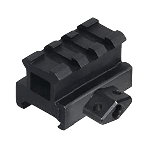 UTG Medium Profile Riser Mount with 3 slots