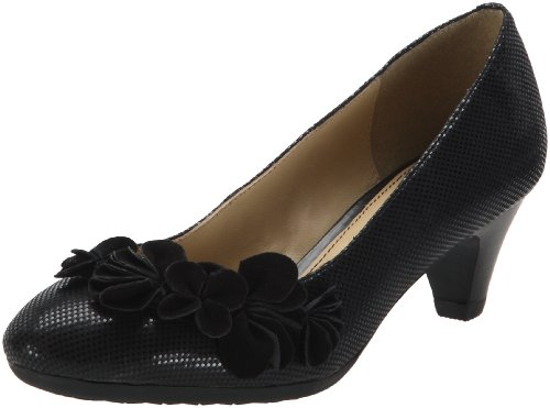 Hush Puppies Women's Sanguin Pump_fl Black Decorative
