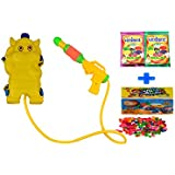Darling Toys Holi Combo Pack (1 Water Gun+2 Herbal Gulal+1 Pack Balloon) - B01CA8M584