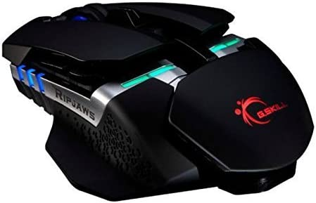 G.SKILL RIPJAWS MX780 USB Wired RGB Laser Gaming Mouse Model GM-L8200CL8-MX780D10 by G.Skill [並行輸入品]