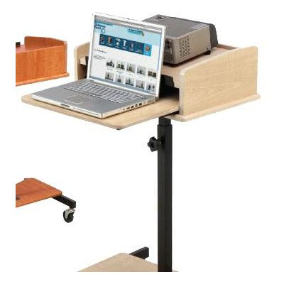 "Oklahoma Sound Lss-Fm Adjustable Laptop Speaker Stand, 24"" Length X 24"" Width X 39""-40"" Height, Fusion Maple"