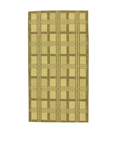 Tapis a Porter Alfombra Casa Sisal Verde 110 x 170 cm