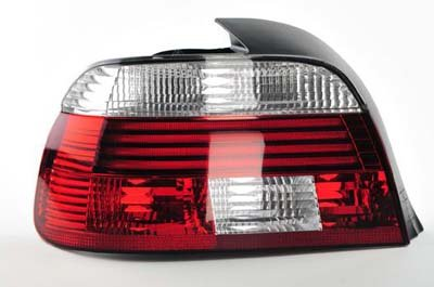 Oe Bmw / Hella 5 Series 525 530 M5 E39 Euro Led Red/ White Tail Light Assembly - 63216902527