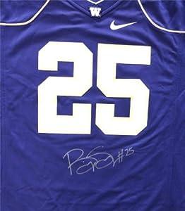 Bishop Sankey Autographed Hand Signed Nike UW Huskies Purple Jersey Size XL MCS Holo