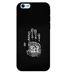 PrintDhaba KEEP EM OFF D-6978 Back Case Cover for APPLE IPHONE 6 PLUS (Multi-Coloured)