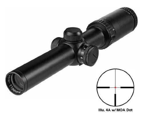 Bushnell Trophy 1-4X24 Riflescope Illum. 4A Reticle Matte With Free Purchasecorner Microfiber Cleaning Cloth.