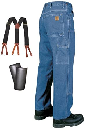"""Big Bill 30"""" Inseam Double - Front Logger Jeans, STONE, 32"""