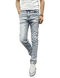 Demon&Hunter YOUTH Series Men's Skinny Slim Jeans DH8038(36)