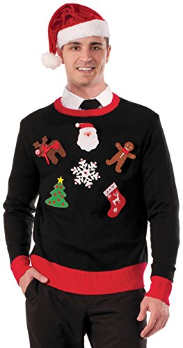 Forum Novelties Men's Do It Yourself Ugly Christmas Sweater Kit
