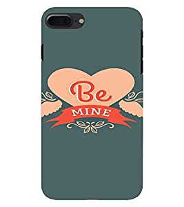 PrintVisa Be Mine Propose Love Design 3D Hard Polycarbonate Designer Back Case Cover for Apple iPhone 7 Plus