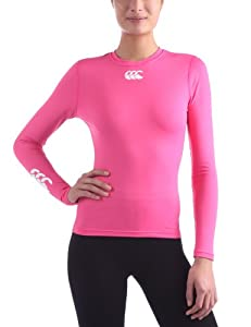 Canterbury Cold Long Sleeve Top Women Baselayer femme Pink XS (8)