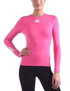 Canterbury Cold Long Sleeve Top Women Baselayer femme Pink XS (8)