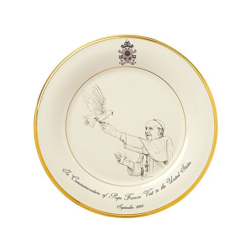Gorham Pope Francis Commemorative Plate