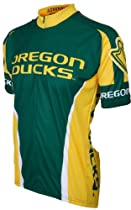 NCAA Oregon Cycling Jersey,XX-Large, Green/Yellow