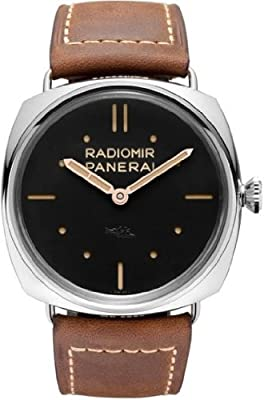 Panerai Radiomir SLC 3 Days Mechanical Black Dial Mens Watch PAM00425 from watchmaker Panerai
