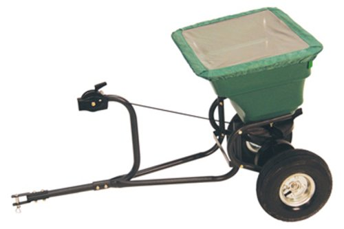 Precision Products 75-Pound Capacity Tow-Behind Semi-Commercial Broadcast Spreader TBS4000PRCGY