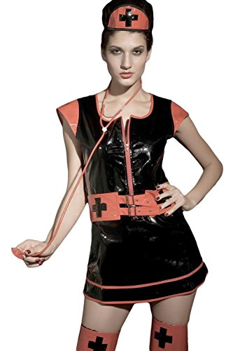 DarlingLove Women's Gothic Nurse Outfit Nightdress Costume