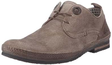 Kickers Duo, Chaussures à lacets homme - Gris clair, 41 EU