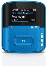 Philips - SA4RGA04BN - GoGear Raga - Lecteur mp3 - 4 Go - Bleu