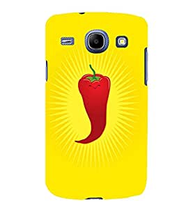 TOUCHNER (TN) Red Chilli Back Case Cover for Samsung Galaxy Core i8262::Samsung Galaxy Core i8260
