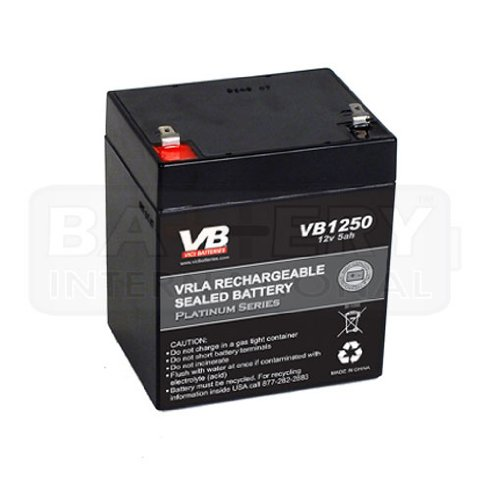 Vici battery replacement battery for liftmaster 485lm for 12 volt battery garage door opener