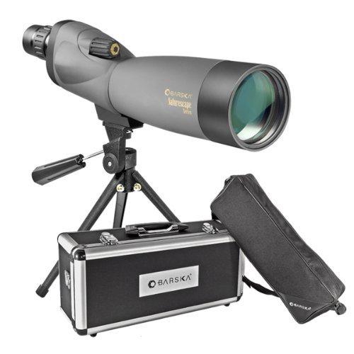Barska Naturescape 20-60x60 Waterproof Spotting Scope w/Tripod, Soft Carry Case & Premium Hard Case