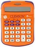 Collegiate Series 00515 CLEMSON UNIVERSITY Solar-Powered Calculator with School Logo and Colors