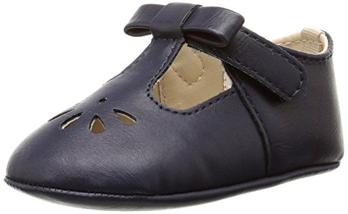 Baby Deer Bow Infant T-Strap (Infant), Navy, 1 M US Infant (Baby Girl Navy Blue Shoes compare prices)