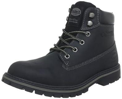 Dockers by Gerli 330503-007001, Herren Desert Boots, Schwarz (schwarz 001), 48 EU (13 Herren UK)