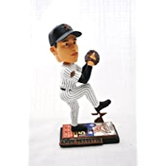 Houston Astros Official MLB #21 Andy Pettitte rare ticket base action Bobble Head