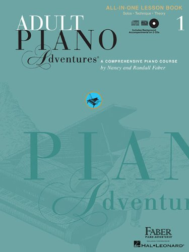 Adult Piano Adventures All-in-One Lesson Book 1 (Faber...