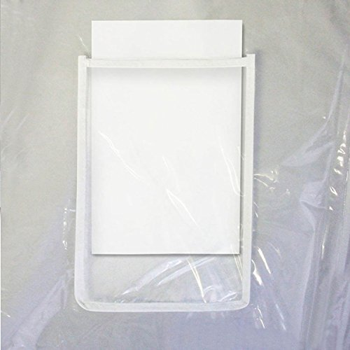 Hangerworld Housse de protection transparente XXL pour portant intérieur/extérieur