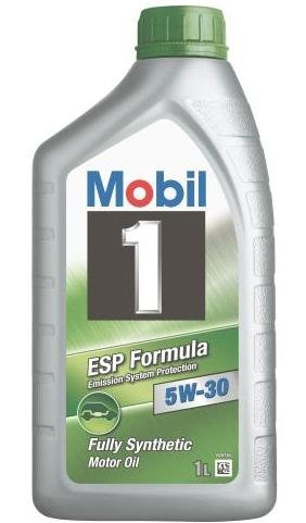 Mobil 1 5W-30 ESP Synthetic Motor Oil, 1 Liter Bottles (case of 12) (Mobil One Esp 5w30 compare prices)
