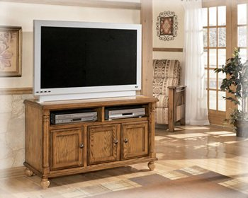 Cheap Cottage Burnished Brown TV Stand (W430-28)