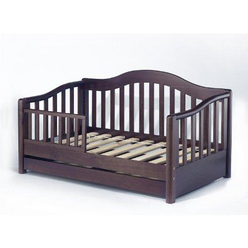 Sorelle Grande Toddler Bed, Espresso front-695491