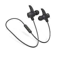 Brainwavz BLU-200 Bluetooth Noise Isolating Earphones In-Ear Earbuds Sport Headphones