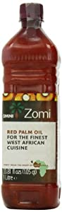 Omni 100% Natural Unrefined Red Palm Oil 1 Litre