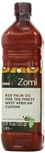 Omni 100% Natural Unrefined Red Palm Oil 1 Litre